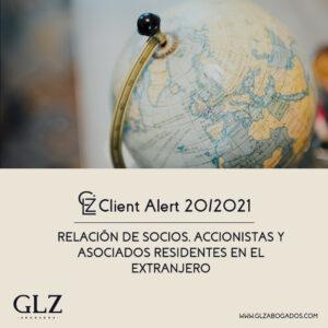 Socios, accionistas y asociados residentes en el extranjero