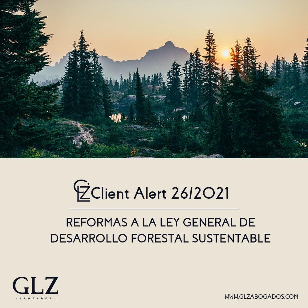 reformas a la Ley General de Desarrollo Forestal Sustentable